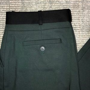 Club Monaco forest green trousers